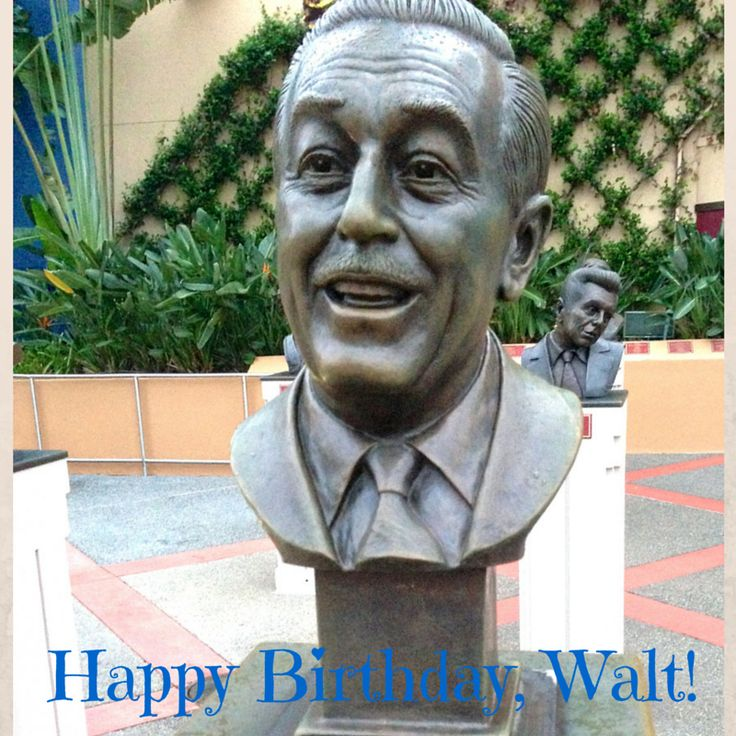 Happy Birthday, Walt! Well done, sir. Standing ovation