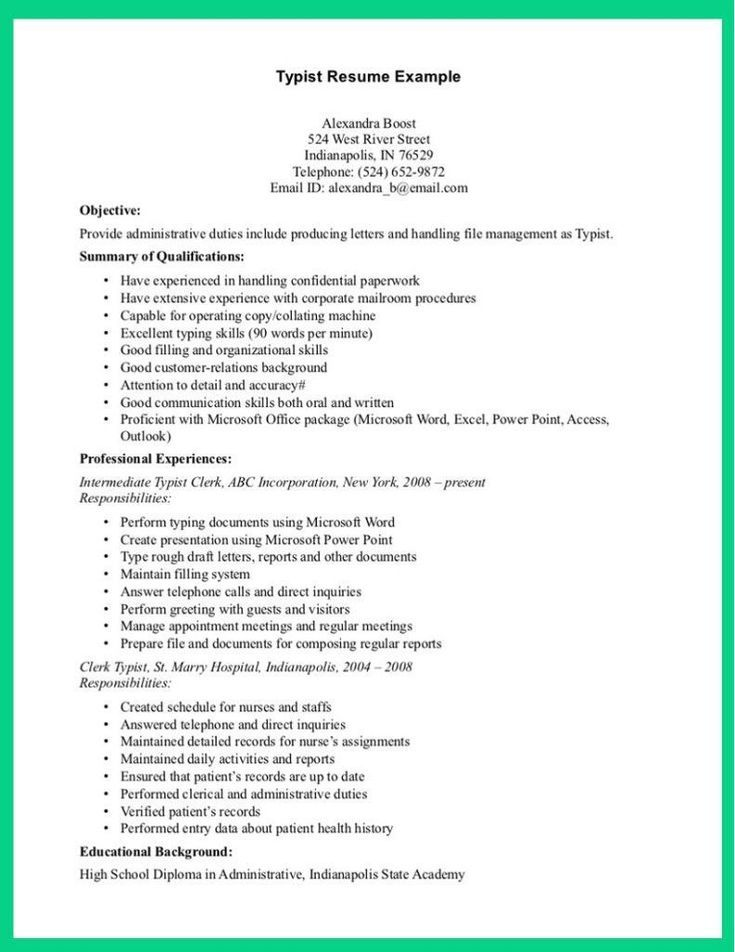 Social Media PinWire 5 Star Resume Examples #examples #resume