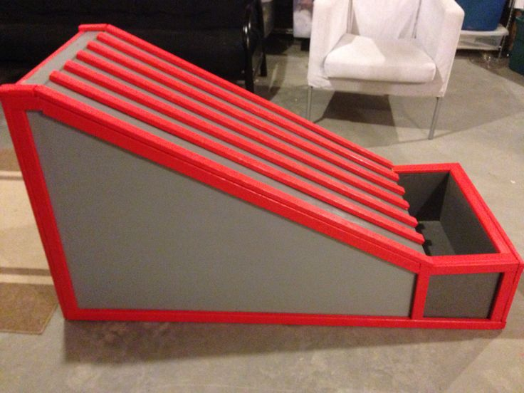 Toy car ramp I made for my nephew's birthday!! #carramp