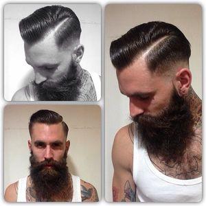Dapper cut AND beard. Well played, sir.
