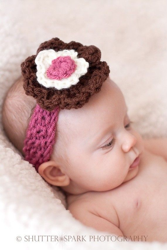 Headband Baby Headband Newborn Headband Baby by BostonAvenueBabies, $6.99