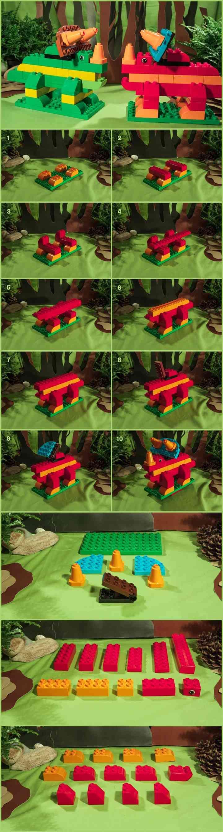Les 25 meilleures id es de la cat gorie dinosaures sur pinterest anniversaire th me dinosaure - Jeux lego dino ...
