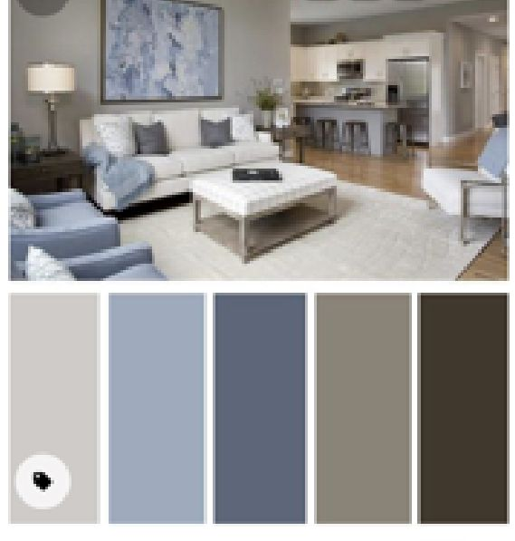 Pin By Terri On Decorating Ideas In 2021 Blue Grey Paint Living Room Grey Paint Living Room Grey Interior Design