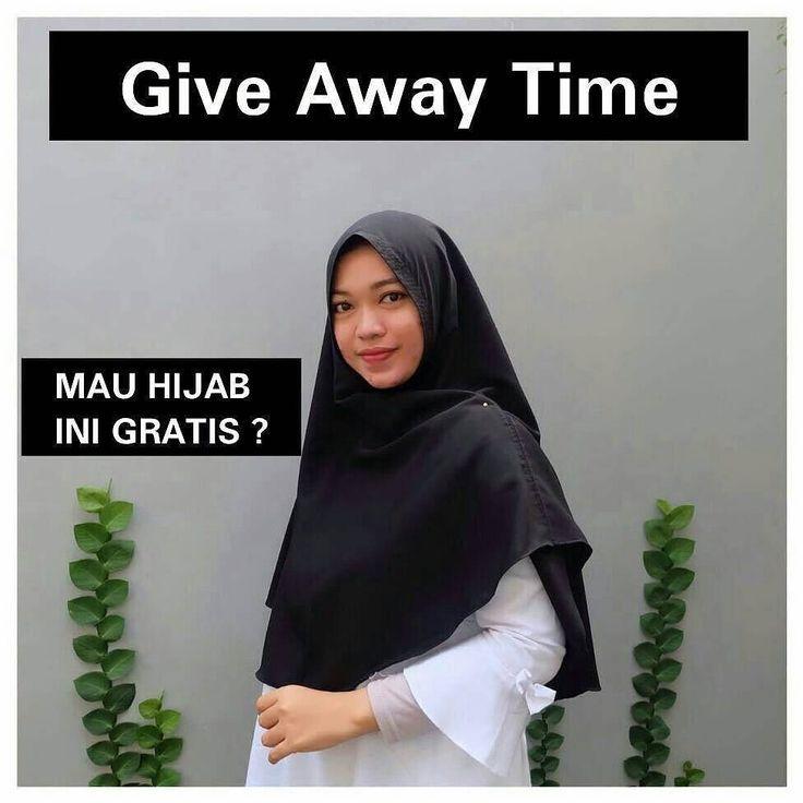 """Assalamu'alaikum ukhti @aninda.hijabmu ngadain GIVEAWAY loh ukhti  MAU HIJAB KHIMAR ANTEM INI GRATIS? . . Caranya gampaang banget : 1.WAJIB FOLLOW ig @aninda.hijabmu 2. WAJIB Add line @lcj9823s (use @ l : L kecil) 3. Like foto ini  4. Komen """"MAU""""dan tag 2 orang sahabatmu juga . . . 1orang ukhti yang beruntung bakalan dapat hijab ini GRATIS free ongkir (ongkir ditanggung @aninda.hijabmu) . . . . Pemenang akan dipilih @aninda.hijabmu secara acak tentunya yang memenuhi syarat di atas ya ukht…"""