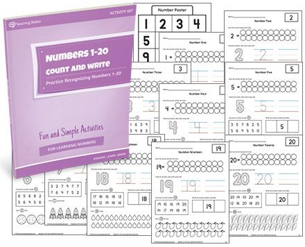 Back To School Worksheets Pdf  Best Math  Addition  Subtraction Images On Pinterest  Grade 2 Comprehension Worksheets Free Excel with Converting Fraction To Decimal Worksheet Numbers  Count And Write Activity Set Worksheet For
