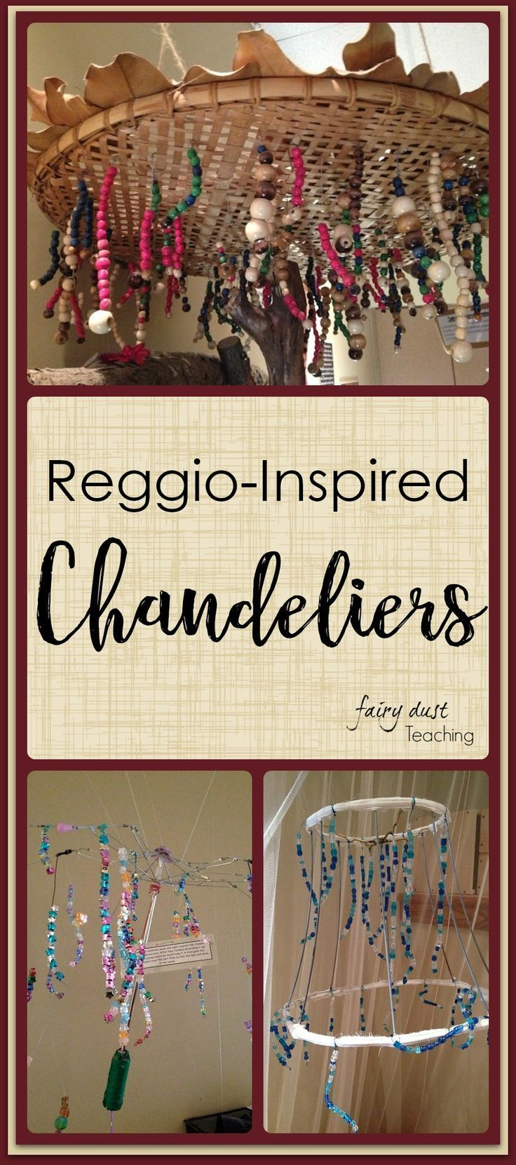 Reggio Inspired: Chandeliers l Fairy Dust Teaching