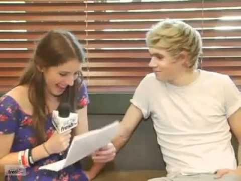 YOU MUST WATCH THIS INTERVIEW. IT'S A BIT OLD BUT ITS BLOODY BRILLIANT. NIALL'S ACCENT AND HE IS SO DARN CUTE.