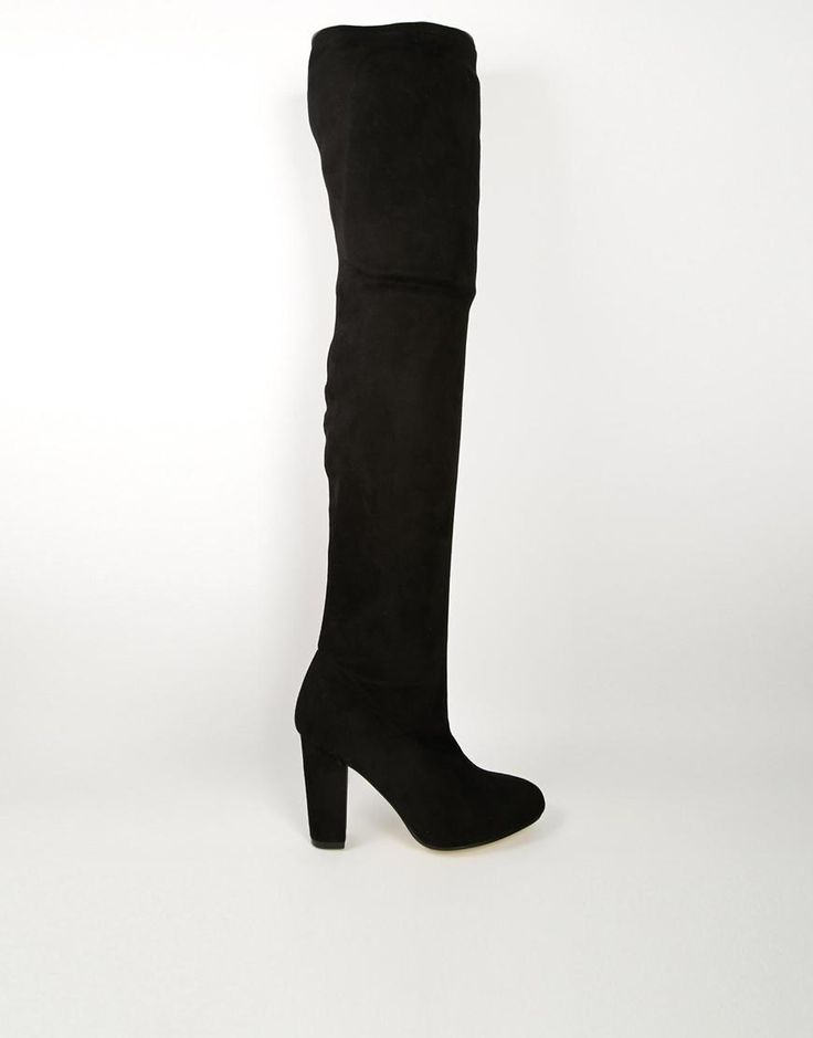ASOS   ASOS KISS OF LIFE Over the Knee Ankle Boots at ASOS