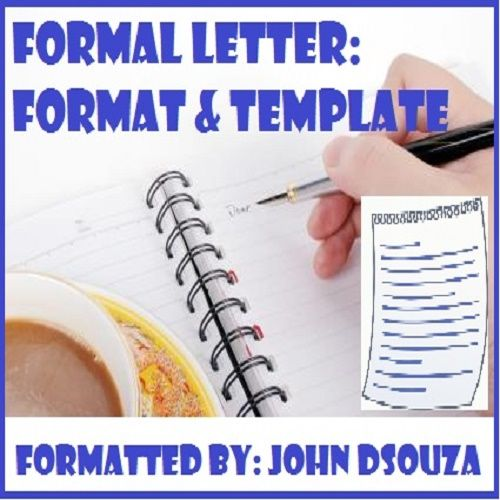 The 25+ best Format of formal letter ideas on Pinterest Formal - formal report template word