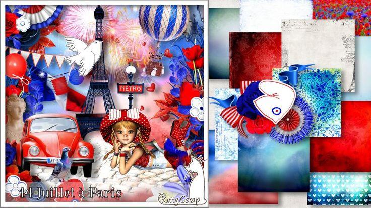 kit 14 Juillet a Paris by KittyScrap
