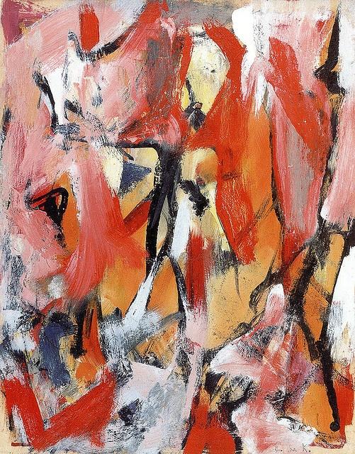 Elaine de Kooning - Untitled, 1950