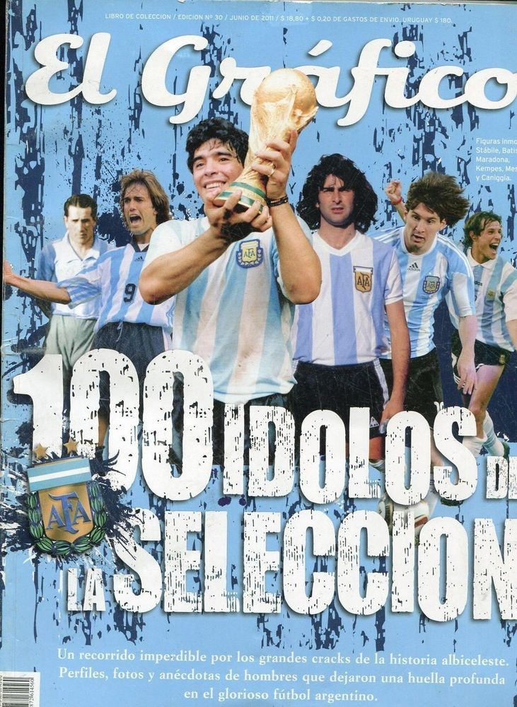 Soccer Argentina Team 100 Best History Players - RARE Special Book - World CUps  | eBay