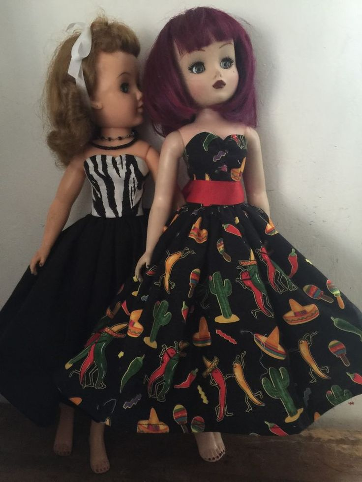 "Doll Dresses fit 20"" doll Cissy Miss Revlon Cheetah chile pretty dresses #ClothingAccessories"