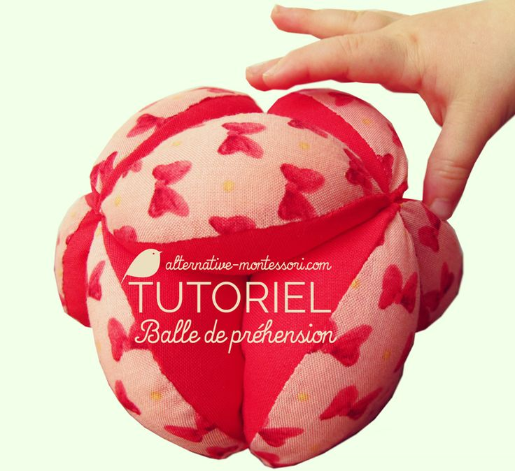 Tutoriel Balle de préhension ❤ Alternative Montessori