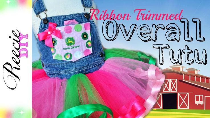 How to Make an Overalls Tutu Dress
