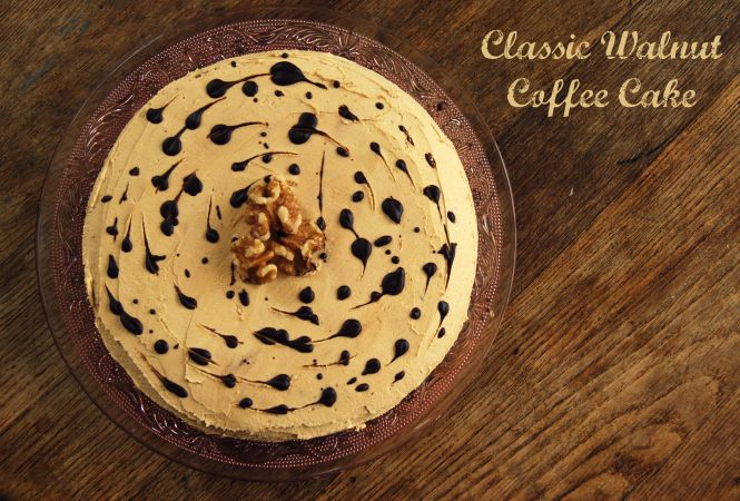 Classic Walnut Coffee Cake – The imperfect writings