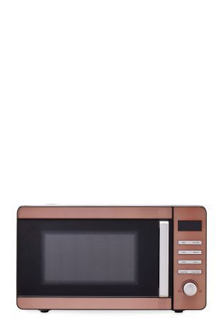 Buy Next Copper Effect 800W Microwave from the Next UK online shop