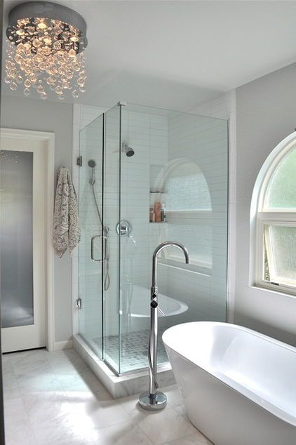 Even a great bathroom can feel drab and depressing when the lighting isn't right. Start with the least expensive lighting fix. Trim thick shrubbery covering your windows from outside or replace thick curtains with some that let in light while retaining privacy.