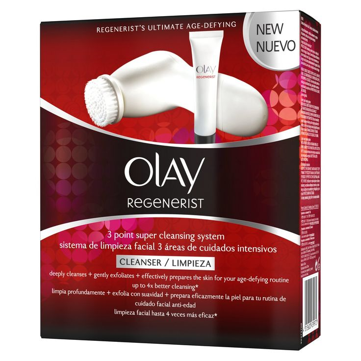 Olay Regenerist 3 Point Super Cleansing System - this is a fab little kit! Use once a week for a deep clean has worked wonders!
