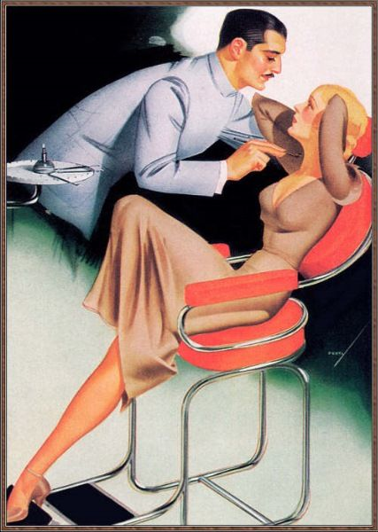 Dental school recruitment poster from the 1940's