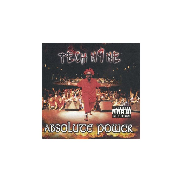 Tech n9ne - Absolute power [Explicit Lyrics] (CD)