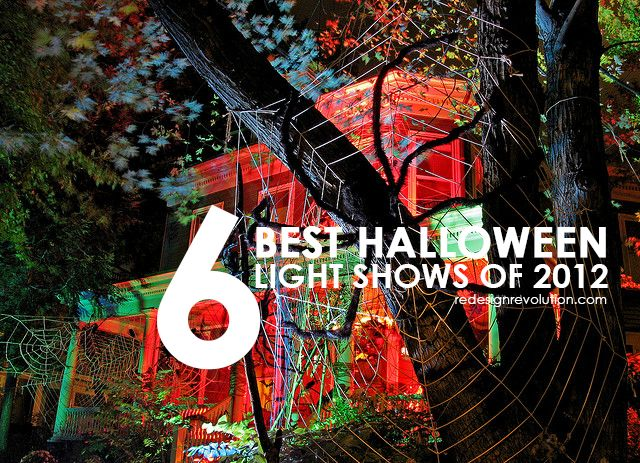 Awesome  Best Halloween Light Shows of
