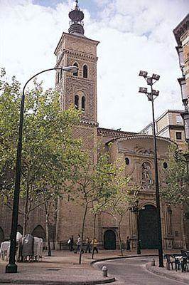 Iglesia de San Miguel de los Navarros en la Ciudad de Zaragoza