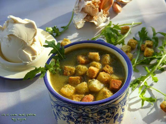 Ce si cum mai gatim: Supa crema de broccoli