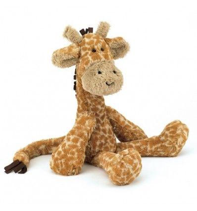 Jellycat Merryday Giraffe Medium (41 cm).   Deze giraffe is super schattig met zijn lange nek en lieve snuit. Hij zal snel het beste vriendje van je kindje worden omdat hij zo zacht is.