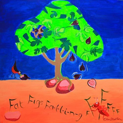 F is for Figs 'Fat Figs falling'