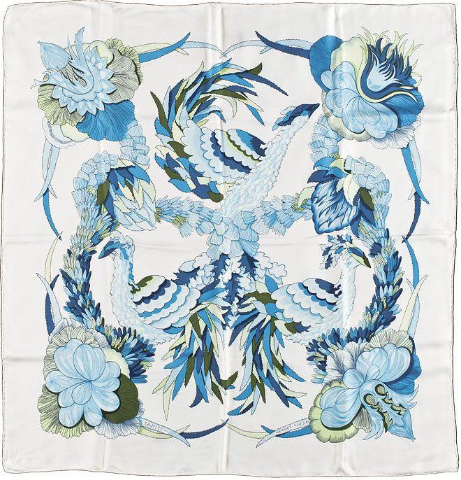 464 best 丝巾 images on Pinterest | Silk scarves, Scarf patterns ...