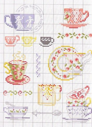 cross stitch chart - on my list to do soon