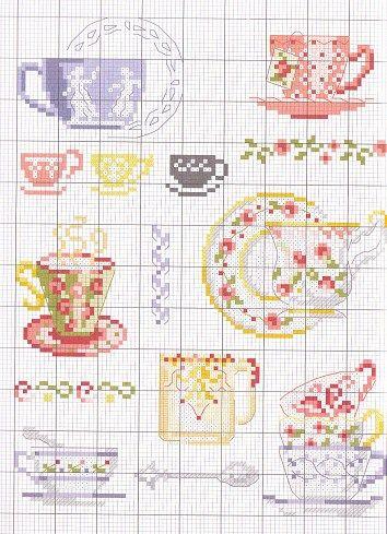 cross stitch chart - on my list to do soon