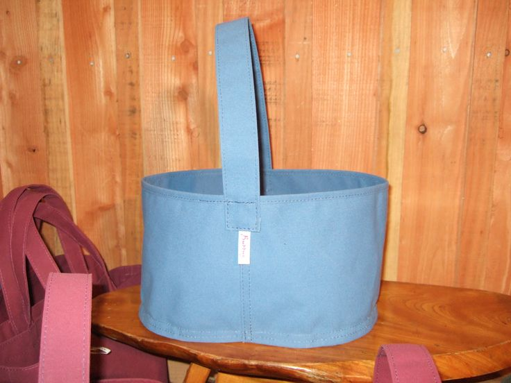 Canvas Trug from Threadform