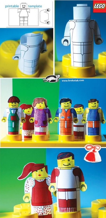 Create Lego people!
