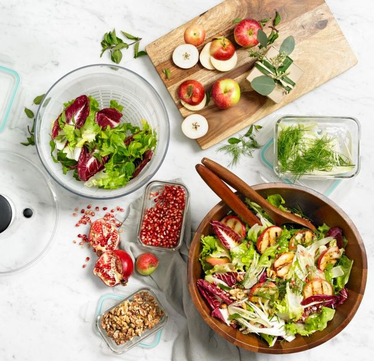 OXO salad spinner — no one ever said a healthy diet has to boring
