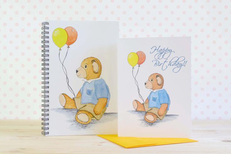Balloon Bear Gift Set