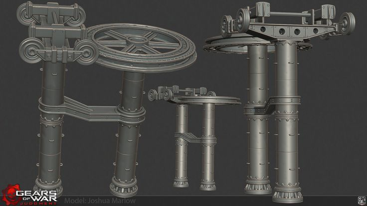 Gears of War Judgment Art - Polycount Forum