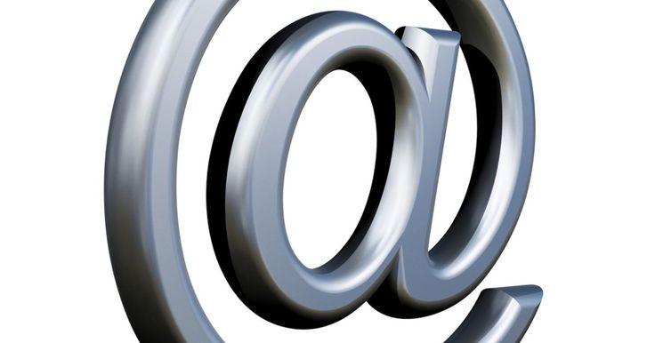 Como escolher um nome de e-mail. O endereço de e-mail diz muito sobre a pessoa que o possui, então pense bem antes de decidir. Você pode escolher apelidos diferentes caso o e-mail seja para uso pessoal, e não corporativo. Existem poucas regras para sua escolha, e muitas vezes, a primeira impressão que alguém tem de você é aquela do seu endereço de e-mail, por isso, considere ...
