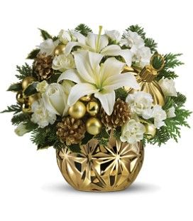 christmas floral arrangements centerpieces - Google Search