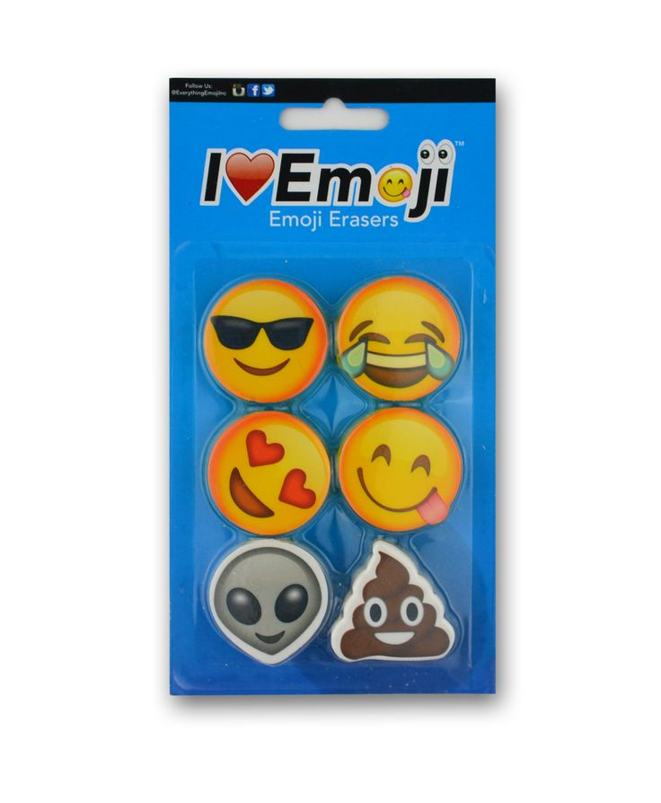Emoji Eraser Pack (Set 2)