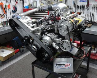Procharged 427W Crate Engine Build