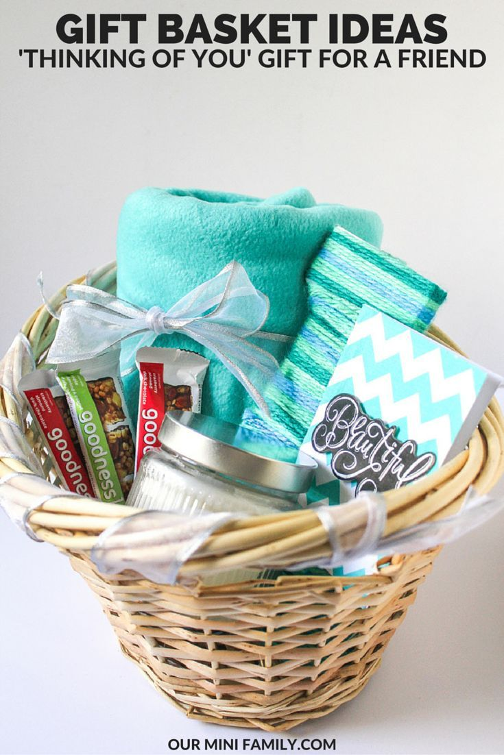 Spread some goodness by giving someone a 'thinking of you' gift basket! See my tutorials on the blog! #TryALittleGoodness ad