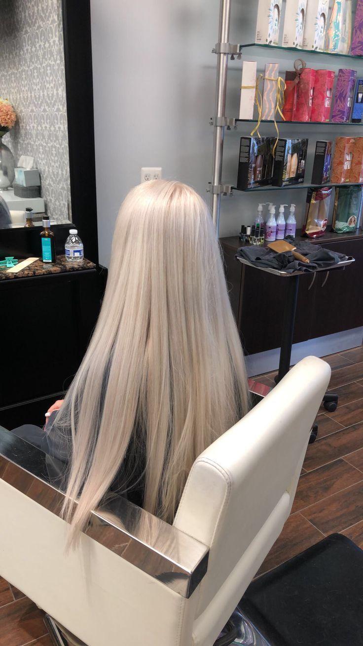 Platinum blonde hair – #blonde #platinum – #new – frisuren – #Blonde #Frisuren