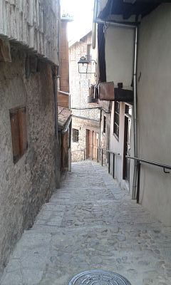 Calle típica del Barrio Judío de Hervás