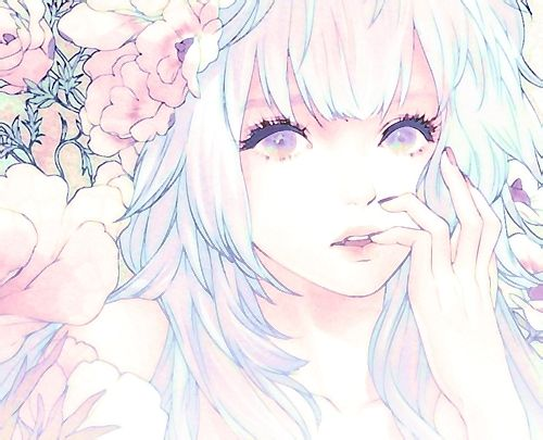 anime, art, beautiful, girl, manga, pastel