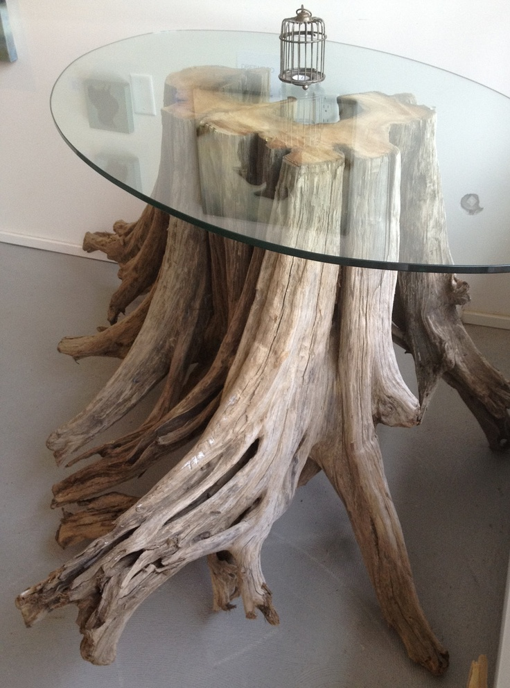 Magnificent One of a kind Driftwood with Glass by AMonthOfSundays, $2,800.00