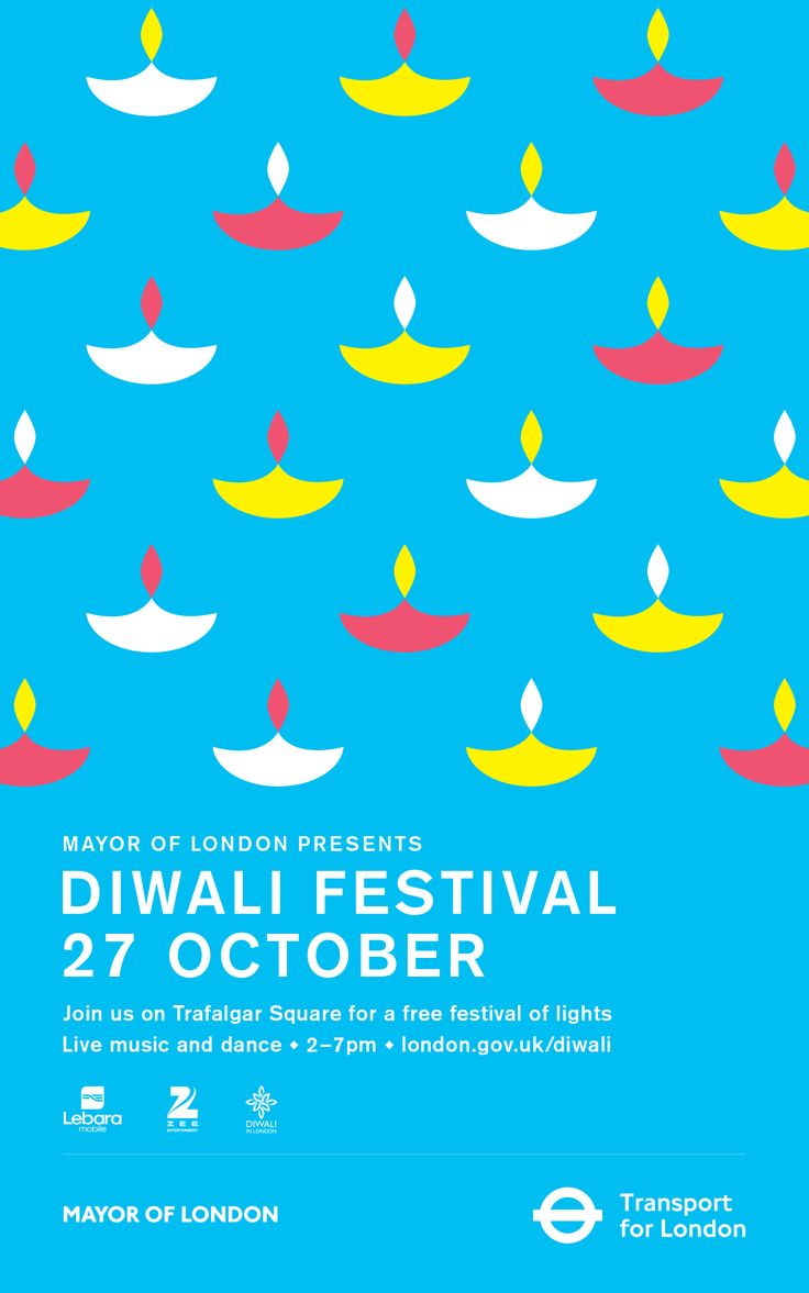trafalgar square diwali poster - Google Search