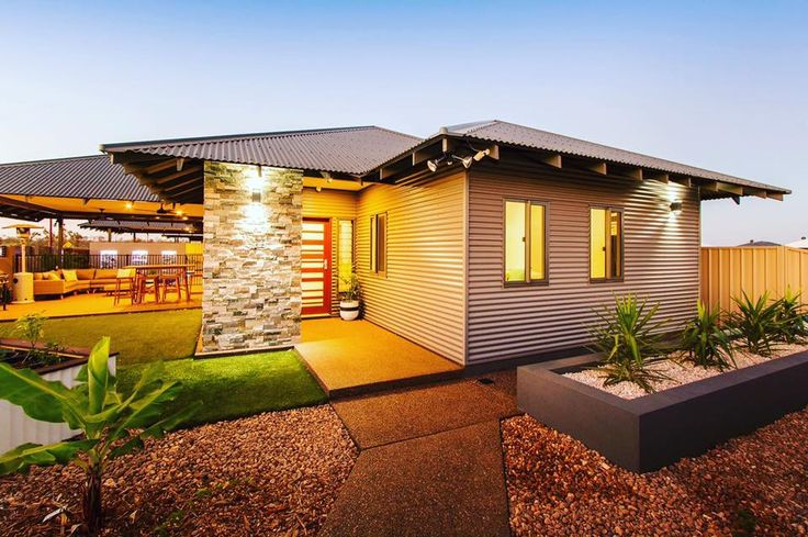 WALLABY WALLS AND WOODLAND GREY COLORBOND ROOF WOODLAND GREY WINDOW FRAMES AND TRIMMINGS