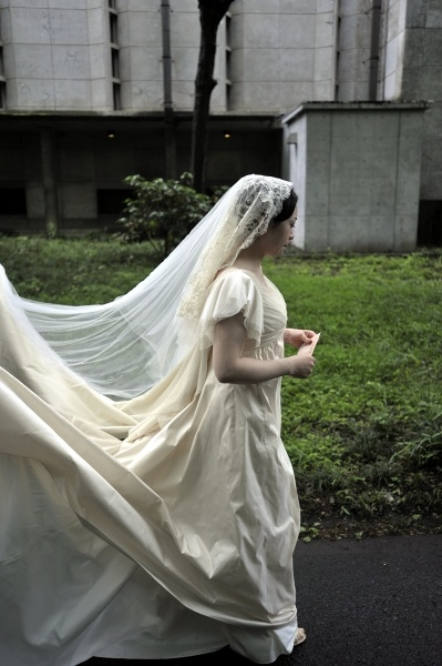 ウェディングドレス 1 Ms.Akiko.Y.'08.5.25 ICU(国際基督教大学))
